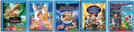 Disney.New.To.Blu.August2014Titles.Covers