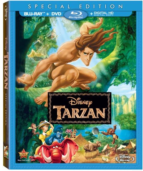 Disney.Tarzan-Bluray.Combo-Cover
