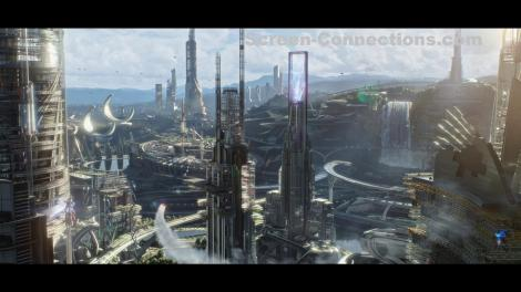 Blu Ray Review Tomorrowland Is Out Of This World Fun Now
