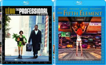 Leon.The.Professional-The.Fifth.Element-4K.Remastered-Blu-ray.Covers