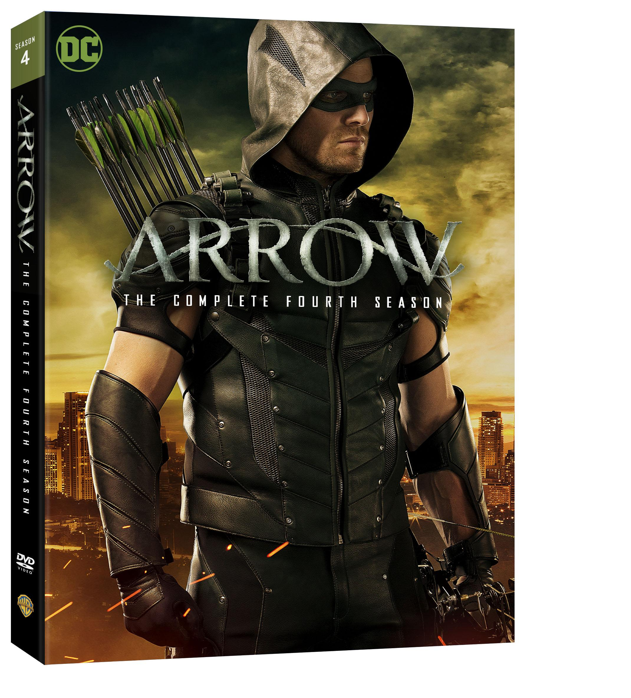 May The 4th Be With You Dc: Arrow.Season.4-DVD.Cover-Side