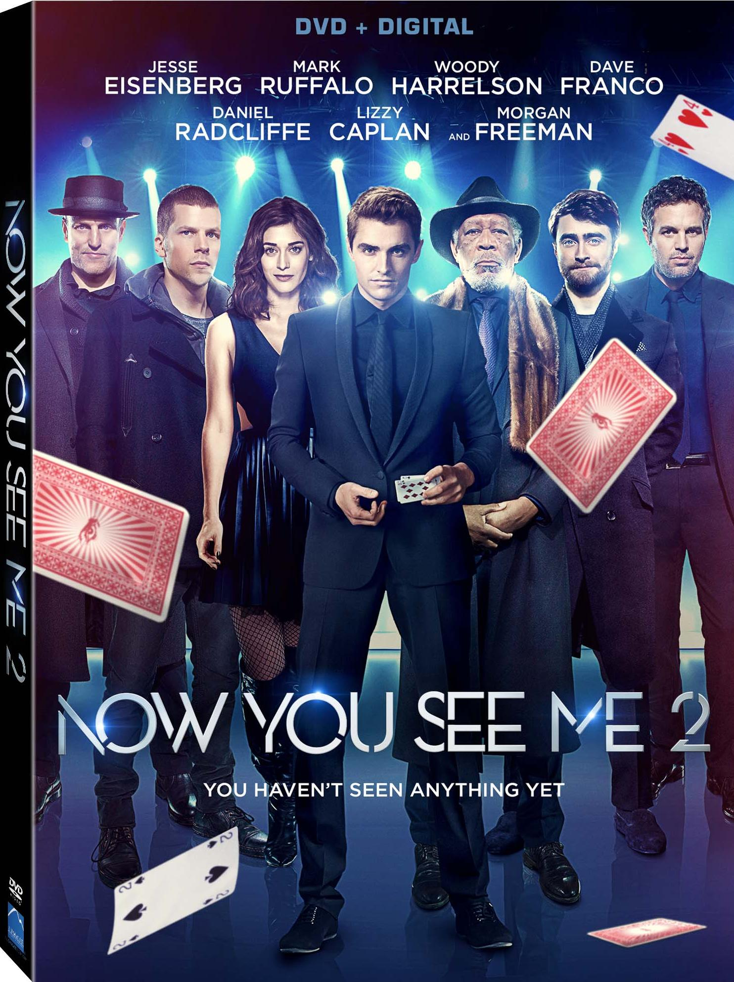 Now.You.See.Me.2-DVD.Cover | Screen-Connections | The Latest Movie ...