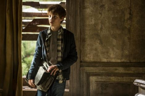 Jake Chambers (Tom Taylor) inside Dutch Hill in Columbia Pictures' THE DARK TOWER.