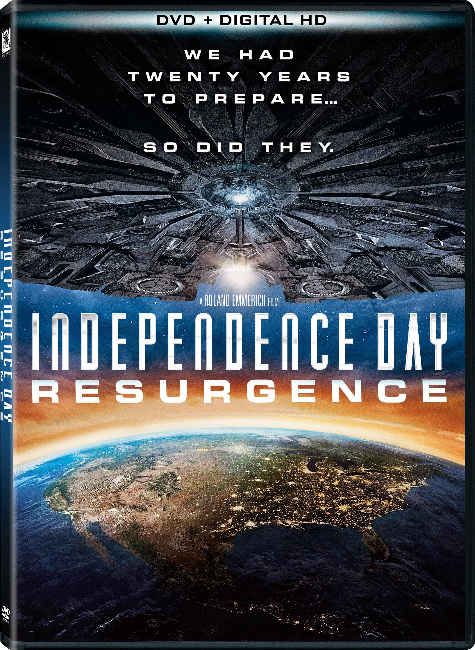 Independence Day Resurgence-DVD Cover | Screen-Connections