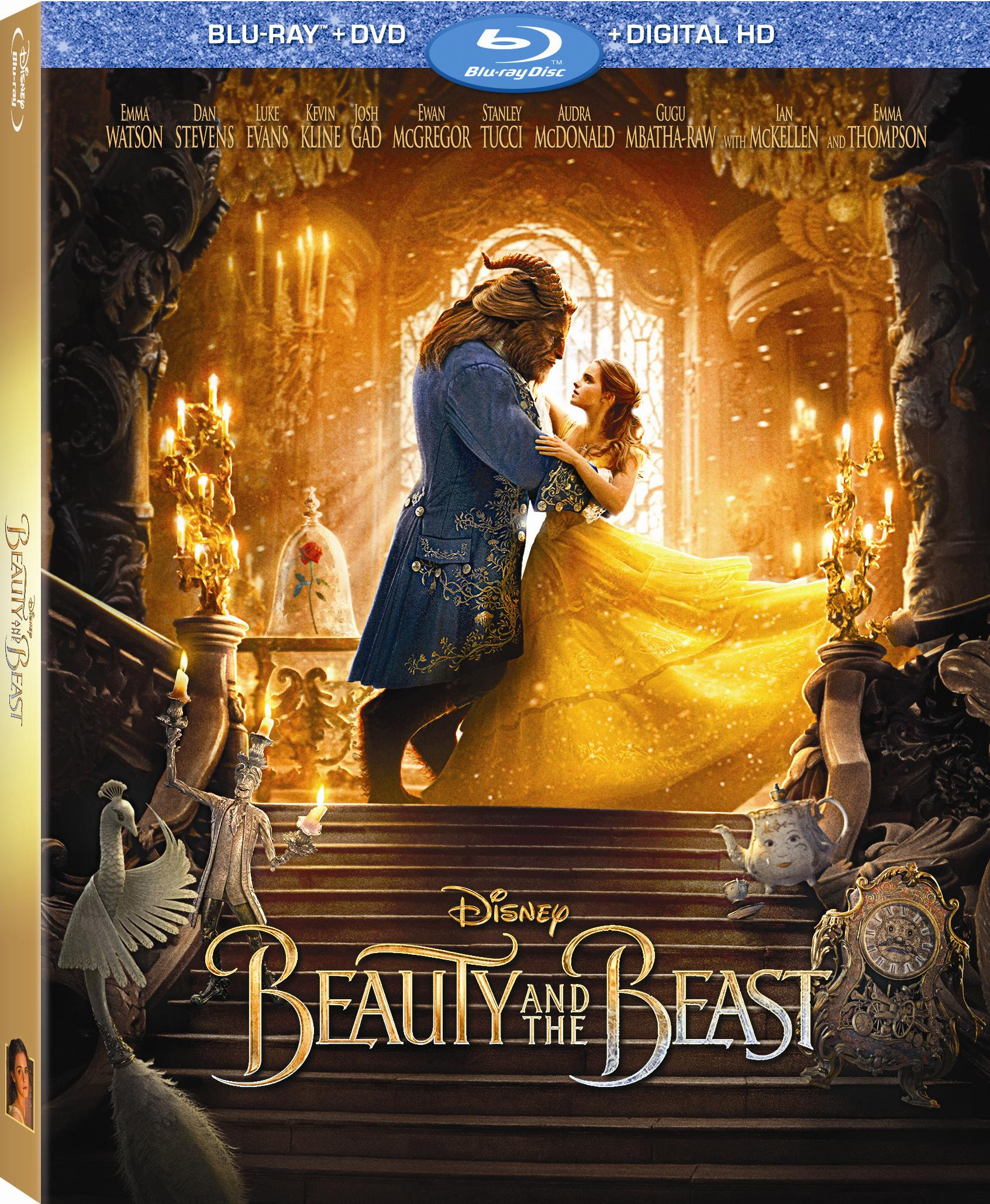Disney Beauty And The Beast 2017 Blu Ray Cover Screen Connections