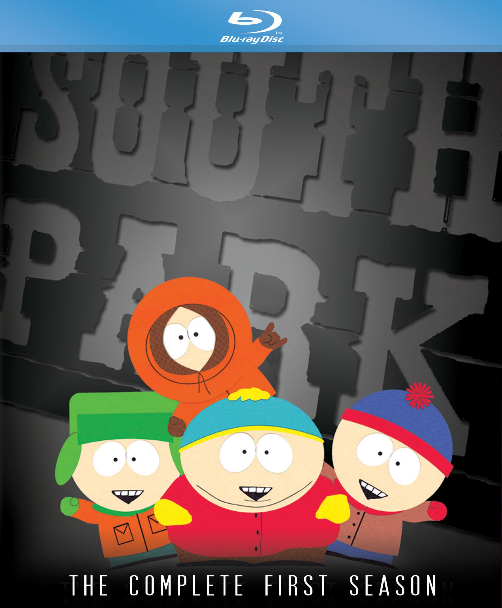 New South Park Season 2020 South.Park.Season.1 Blu ray.Cover | Screen Connections