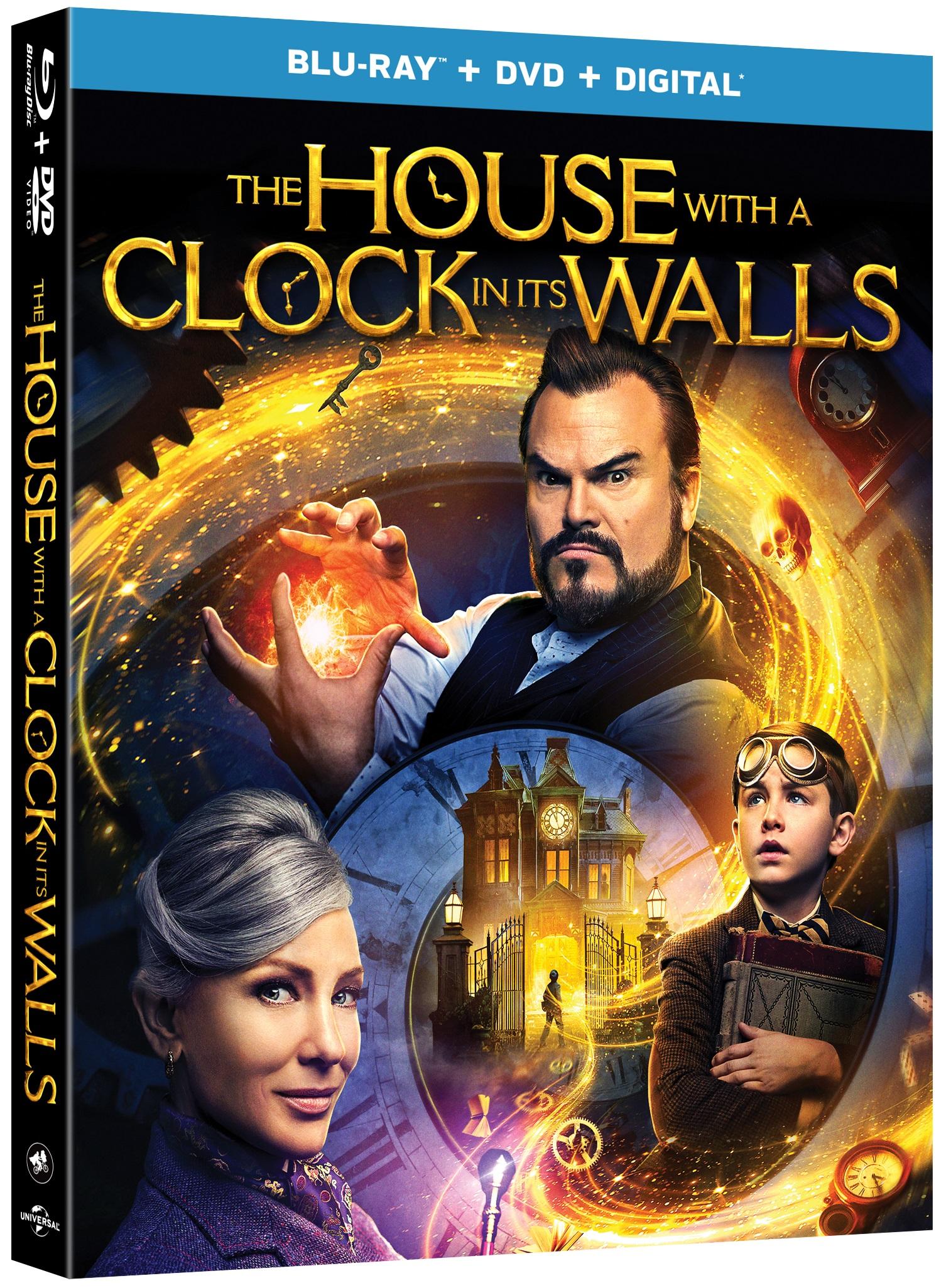 ผลการค้นหารูปภาพสำหรับ THE HOUSE WITH A CLOCK IN ITS WALLS (2018) bluray